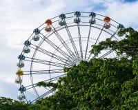 большое колесо ferris стоковое изображение rf