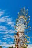 Большое колесо ferris, Pefkohori, Halkidiki, Kassandra, Македония, Gr стоковая фотография