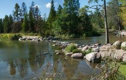 Большое начало реки стоковое фото