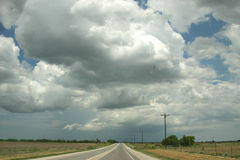 большое небо texas Стоковые Изображения RF