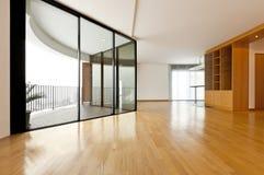 большое окно комнаты Стоковые Изображения RF