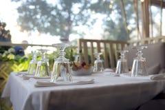 Большое ресторанное обслуживаниа Стоковая Фотография RF
