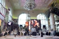 Большое ресторанное обслуживаниа Стоковые Фотографии RF