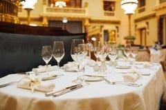 Большое ресторанное обслуживаниа Стоковое фото RF