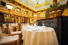 Большое ресторанное обслуживаниа Стоковое Изображение RF