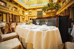 Большое ресторанное обслуживаниа Стоковые Изображения RF