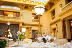 Большое ресторанное обслуживаниа Стоковое Фото