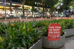 большое сбывание singapore плаката Стоковые Изображения