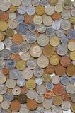большое собрание монеток различное Стоковые Изображения RF