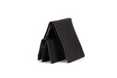 большое черное портмоне малое Стоковое Изображение