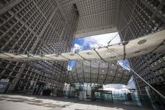 Большое Arche - оборона Ла, Париж, Европа Стоковая Фотография