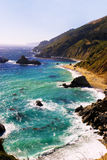 большое sur california Стоковые Изображения RF