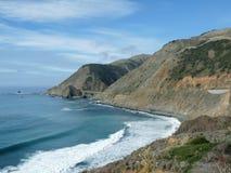 большое sur california Стоковая Фотография