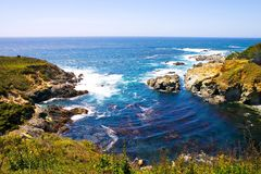 большое sur california стоковое фото
