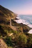 большое sur california pacific син Стоковое Изображение