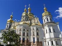 большое uspenski kiev собора Стоковые Изображения