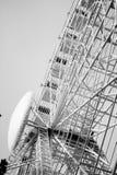 Большое weel черно-белое на фестивале St. John стоковое изображение