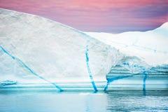 Большой айсберг в Гренландии Стоковые Фото