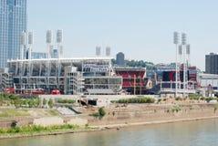 Большой американский бейсбольный стадион Стоковое Фото