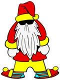 большой босс santa Стоковые Фото