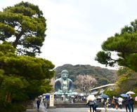 Большой Будда Япония Камакура стоковые изображения