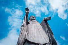 """Большой Будда """"Ushiku Daibutsu """"в Японии стоковое изображение"""
