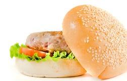 Большой бургер Стоковые Изображения RF