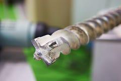 Большой буровой наконечник для бетона стоковая фотография rf
