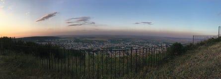 Большой взгляд города Shumen стоковые изображения rf