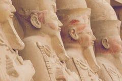 Большой висок Hatshepsut, Karnak, Луксор, Египет Стоковая Фотография