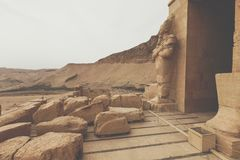 Большой висок Hatshepsut, Karnak, Луксор, Египет Стоковые Фото