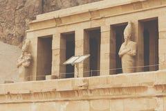 Большой висок Hatshepsut, Karnak, Луксор, Египет Стоковая Фотография RF