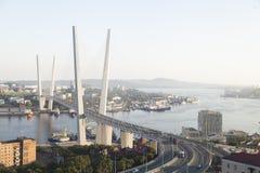 Большой висячий мост стоковые изображения