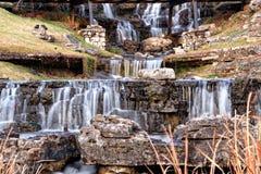 Большой водопад кедра Стоковые Изображения RF