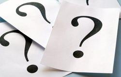 большой вопрос о метки стоковые изображения rf