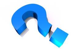 Большой вопрос Стоковое Изображение RF