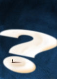большой вопрос Стоковые Фото