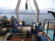 Большой ворот на кормке корабля стоковое фото