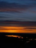 большой восход солнца неба Стоковые Изображения RF