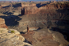большой вызванный утес nati mama образования canyonlands Стоковое Изображение