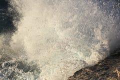 Большой выплеск волны Стоковое фото RF