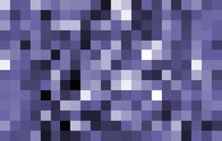 большой голубой тон пикселов иллюстрация вектора