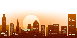 большой город 2 иллюстрация штока