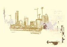 Большой город Стоковые Изображения