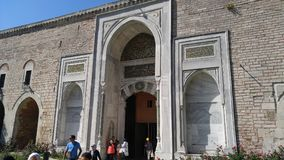 Большой дворец двери Стоковая Фотография RF
