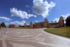Большой дворец и дом хлеба в Tsaritsyno, Москве, России Стоковые Изображения