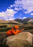 большой женский охотник игры Стоковые Фотографии RF