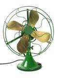 большой зеленый цвет вентилятора стоковое фото rf