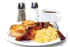 Большой изолированный завтрак страны Стоковое Изображение