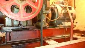 Большой и мощный электрический двигатель стоковая фотография